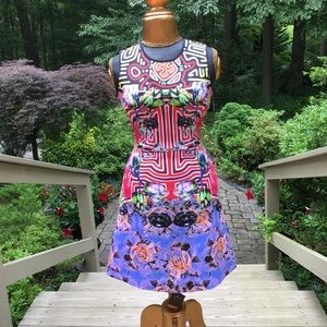 NWT Clover Canyon neoprene dress